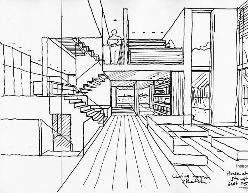 870x675 Stoughton House Theis And Khan Architects