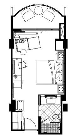 243x441 The Modern Honolulu Ocean View King With Terrace 340 Sqft Otel