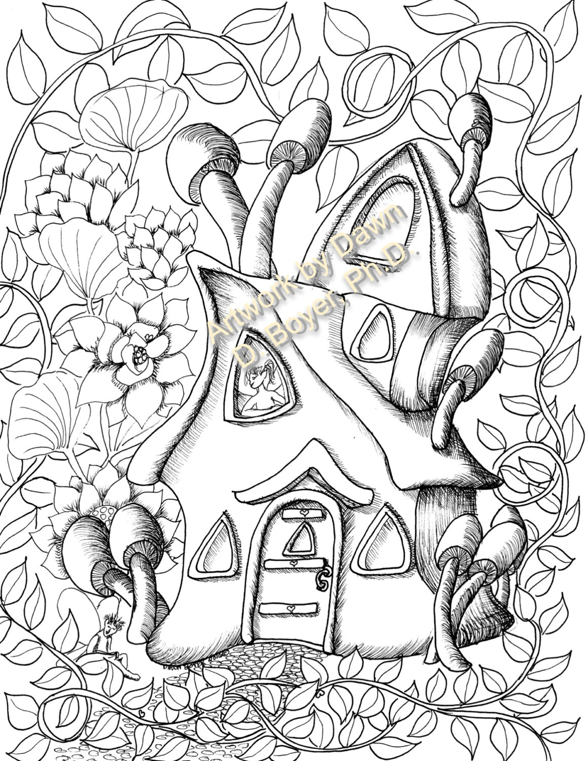 1159x1500 Fairy Houses And Fairy Doors Vol 3 And 4