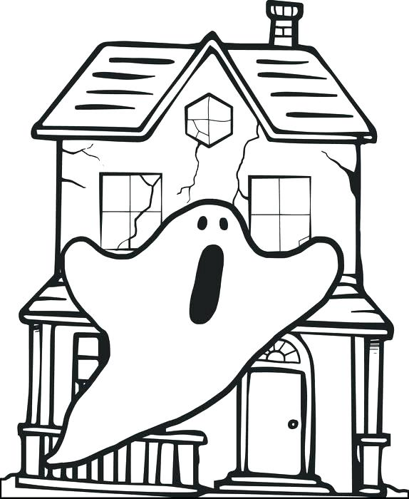 574x700 Cheap House Coloring Page Print Pages Pictures To Free Printable