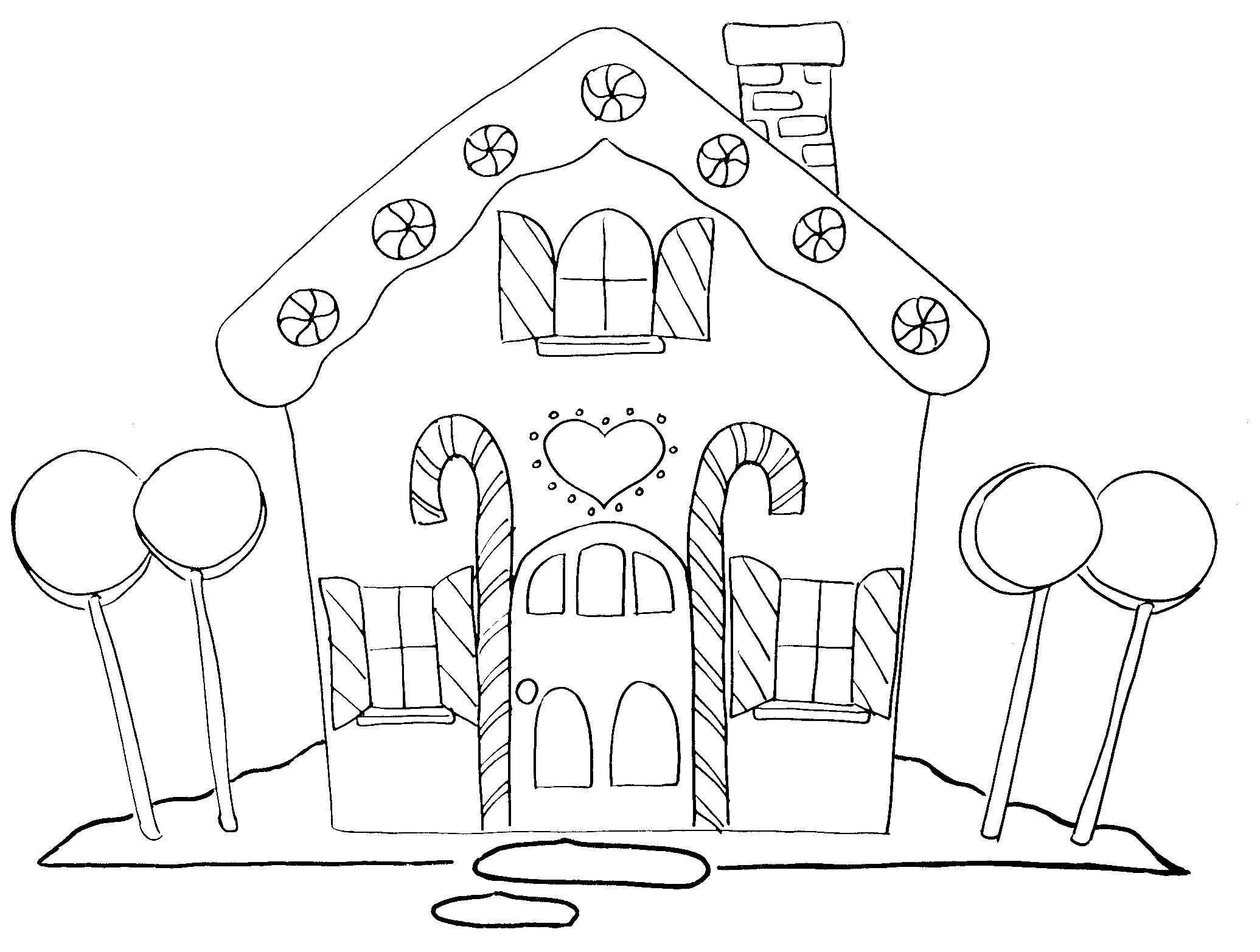 2071x1566 Free Printable Coloring Pictures Of Houses To Color 36 On Line