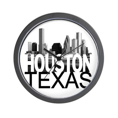 460x460 Houston Texas Clocks Houston Texas Wall Clocks Large, Modern