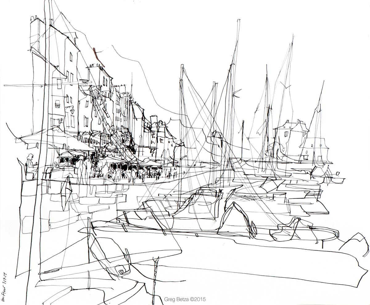 1200x988 Mont Saint Michel And Honfleur Urban Sketchers