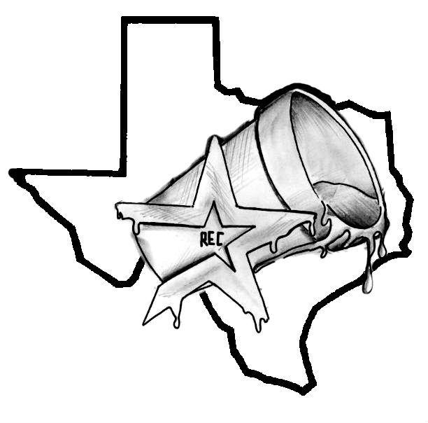 612x604 Star And Texas Tattoo Design