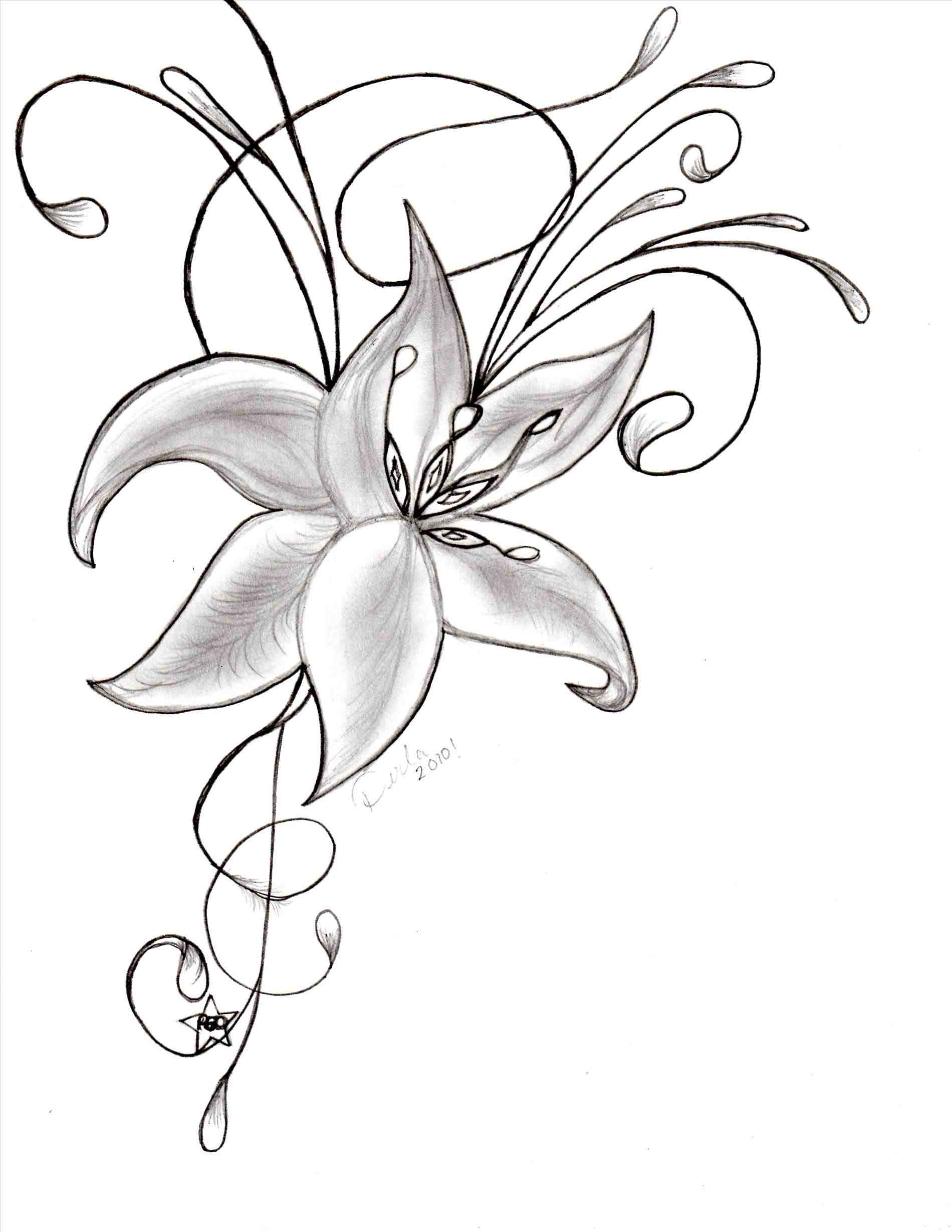 How To Make A Beautiful Flower Drawing At Getdrawings Com
