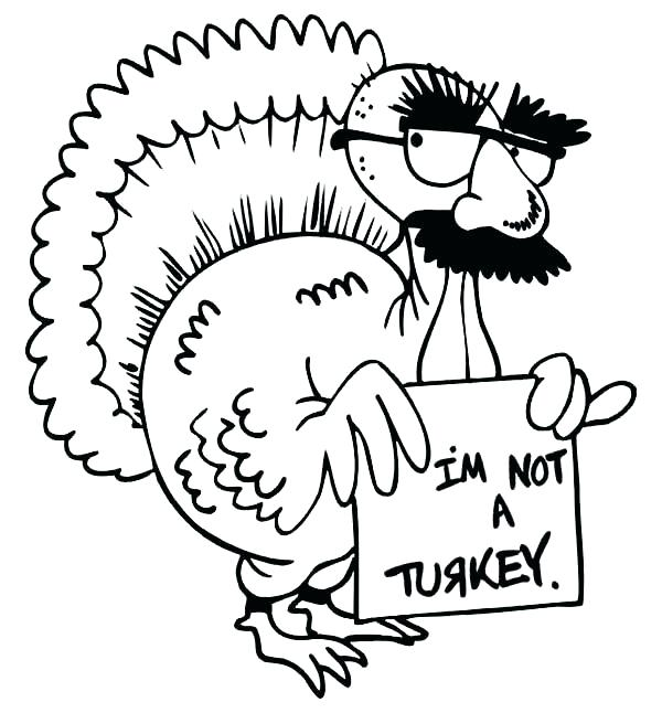 600x646 Coloring Book Turkey Happy Thanksgiving Turkey Page Coloring Book