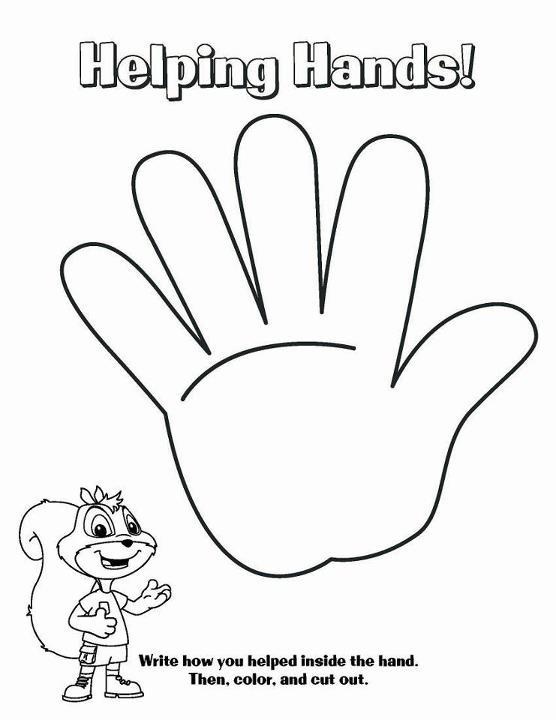 556x720 Chipper Crafts For Children Helping Hand Turkey