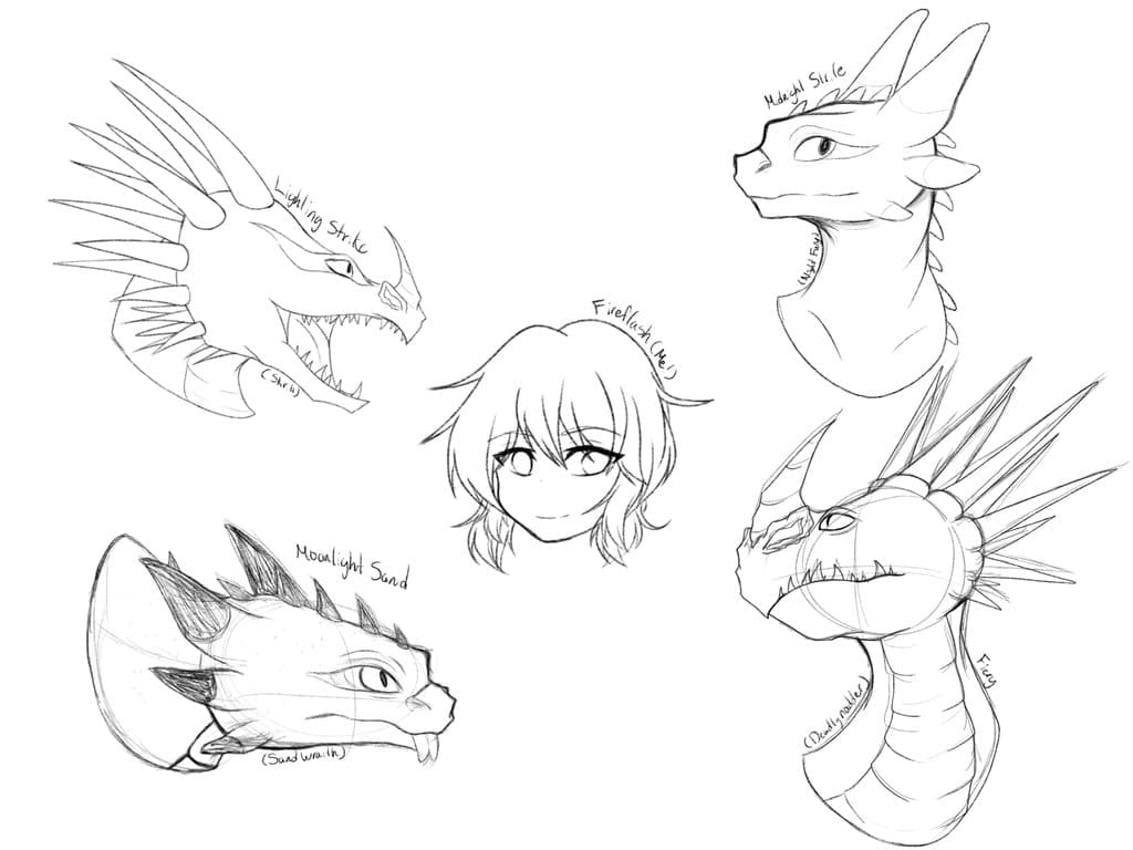 1024x768 Dragon Drawings! School Of Dragons How To Train Your Dragon Games
