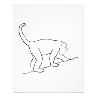324x324 Monkey Flyers Amp Programs Zazzle