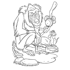 230x230 Top 25 Free Printable Monkey Coloring Pages For Kids