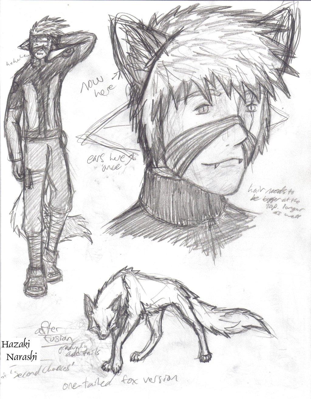 1024x1313 Hazaki Narashi Sketches By Howling Wolf