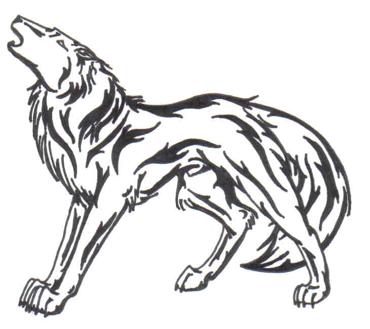 730x648 Howling Wolf Tattoo By Doomwing