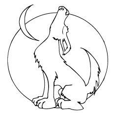 230x230 Top 15 Free Printable Wolf Coloring Pages Online Colouring Pages