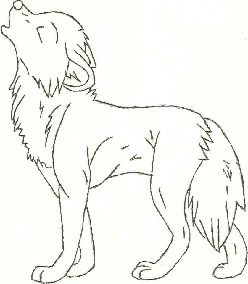 838x960 Drawing Wolf Cartoon Drawing Easy As Well As Wolf Drawing