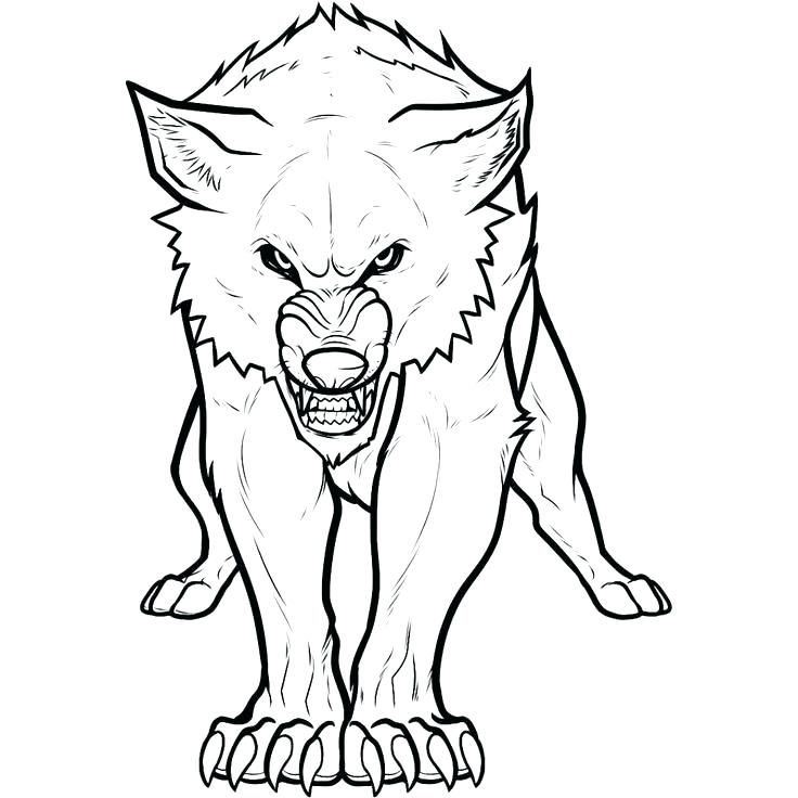 Howling Wolf Head Drawing at GetDrawings.com | Free for personal use ...