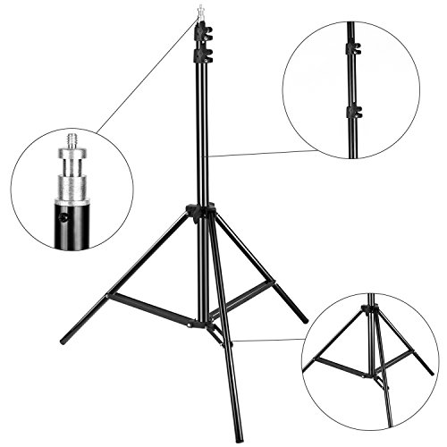 500x500 Neewer 2 Packs 75 Inches190 Centimeters Adjustable Light Stands