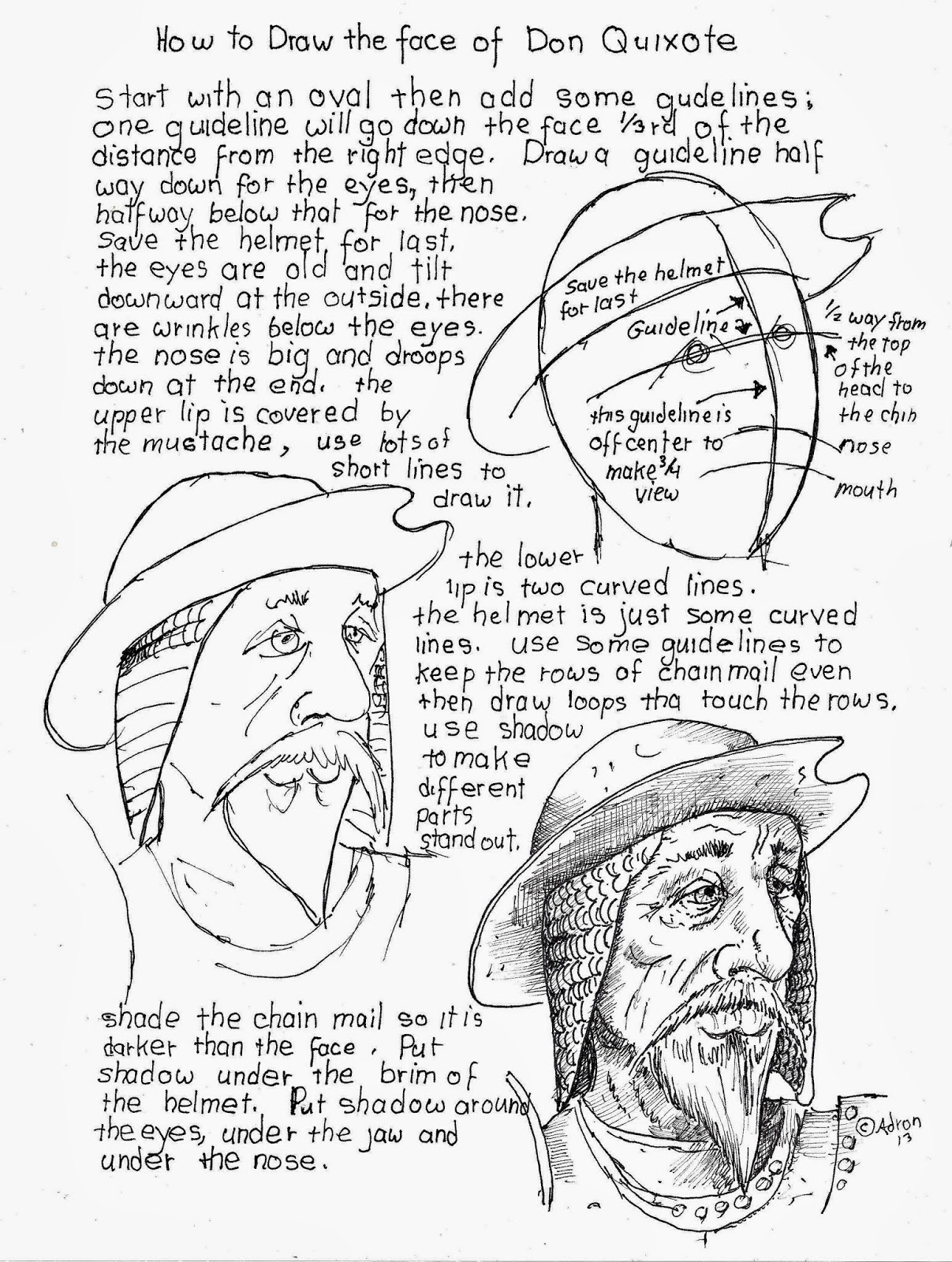 1207x1600 How To Draw Worksheets For The Young Artist How To Draw The Face