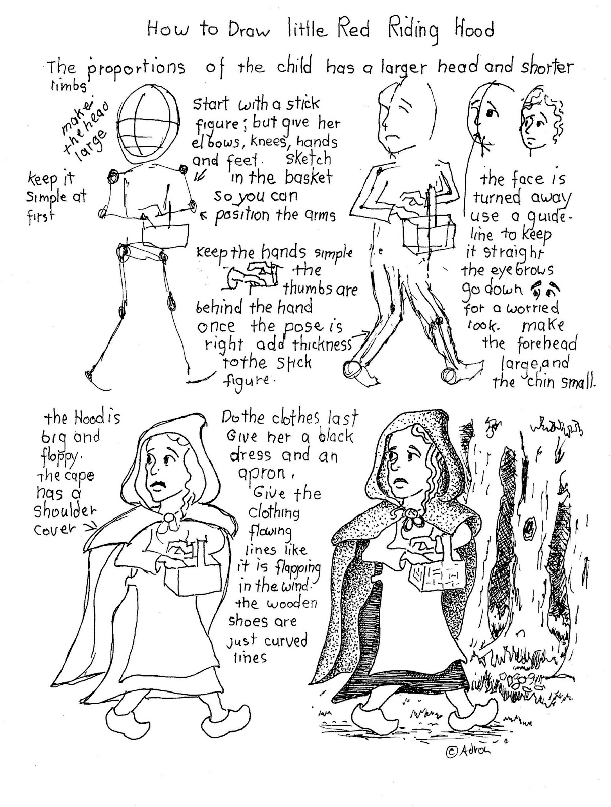 1212x1600 How To Draw Worksheets For The Young Artist How To Draw Little