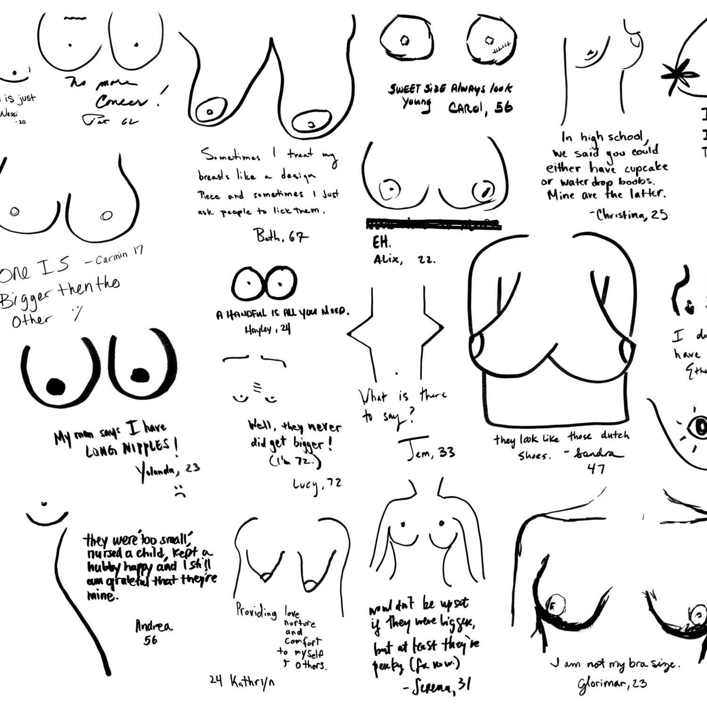 1500x1500 New York Women Draw Their Own Boobs