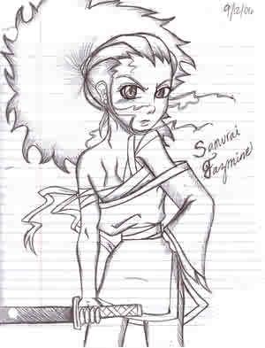 300x393 Samurai Jazmine By The Boondocks Crew