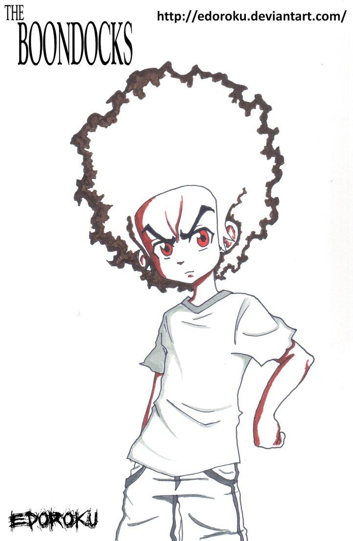 Huey Freeman Drawing At Getdrawings