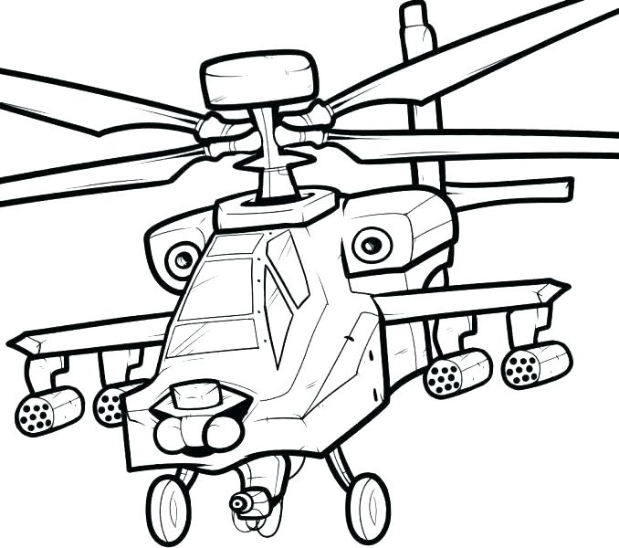 678x600 Cheap Helicopter Coloring Pages Image