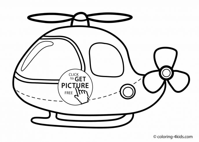 687x490 Coloring Pages Coloring Pages Draw A Helicopter Coloring Pages