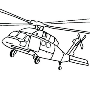 Huey Helicopter Drawing at GetDrawings