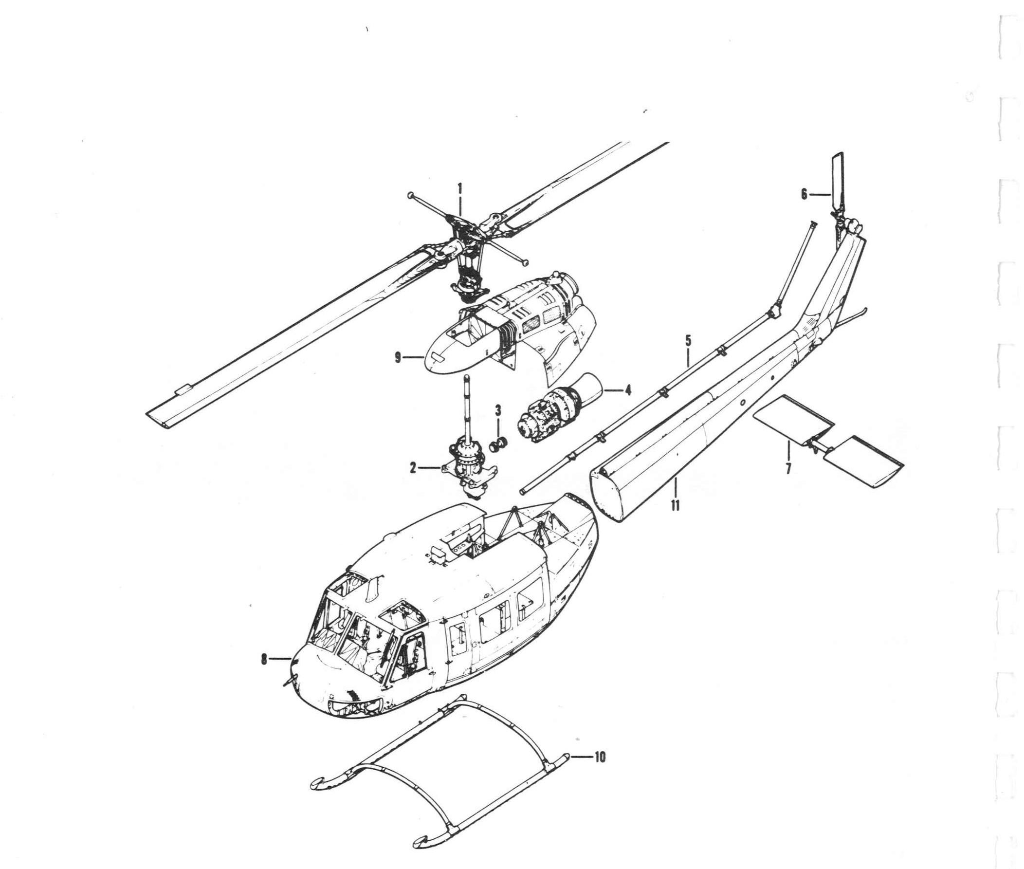 Huey Helicopter Drawing at GetDrawings   Free for personal use Huey Helicopter Drawing of