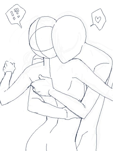 480x640 Draw This Cute Hug Lt3 A Work Of Art Cute Hug, Draw