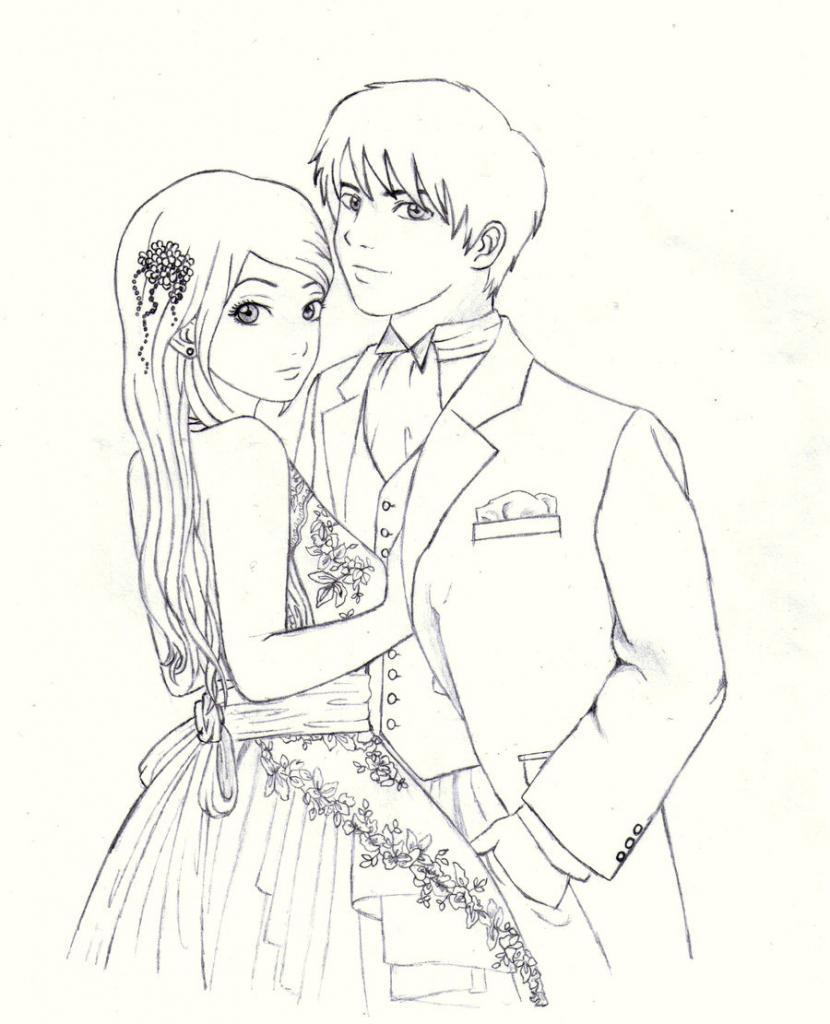 830x1024 Draw Cute Love Couple Cartoon Cute Anime Love Couples Easy To Draw