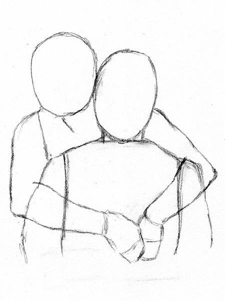 450x600 Photos Couple Hugging Drawing,
