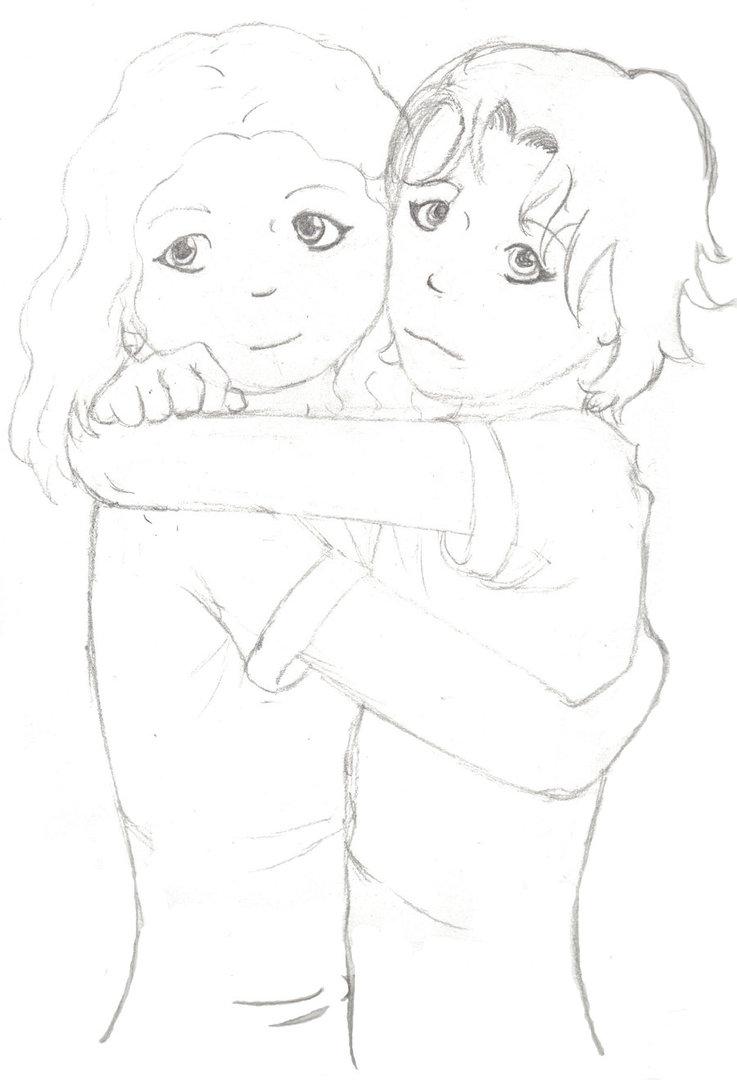 737x1085 Hugs Sketch By Itarilde Telrunya