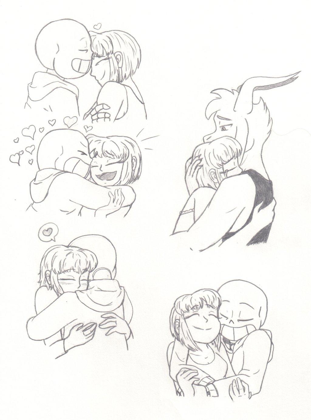 1024x1383 Hugs And Cuddles By Truewinterspring