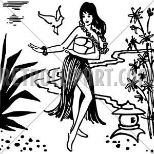 300x300 Hula Dancer,