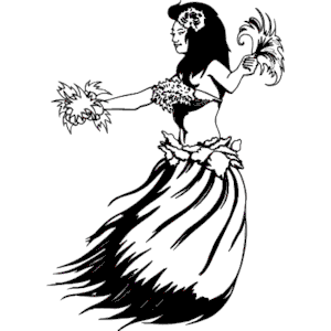 300x300 Hula Dancer Clipart, Cliparts Of Hula Dancer Free Download (Wmf