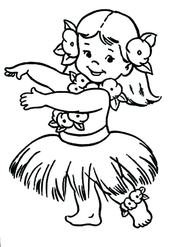 600x806 Luau Coloring Pages Kid Form Playing Ukulele Coloring Pages Kid