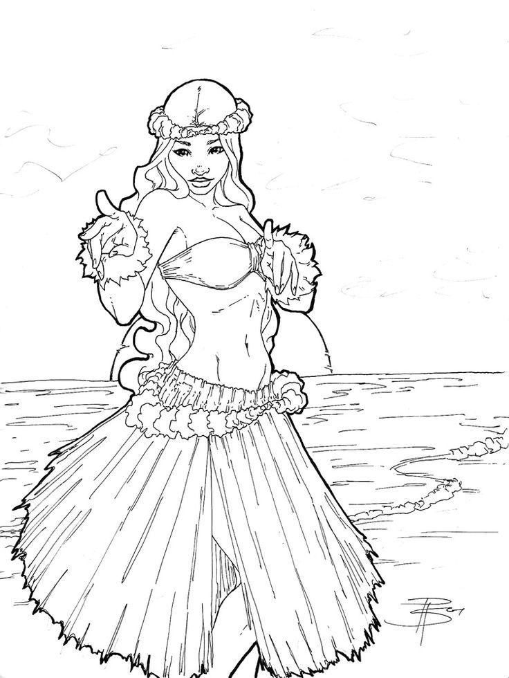 Hula Drawing