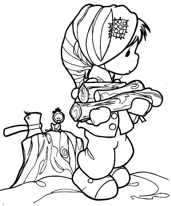 666x800 Minimalist Precious Moments Coloring Pages Best Of Hula Girl Sky P