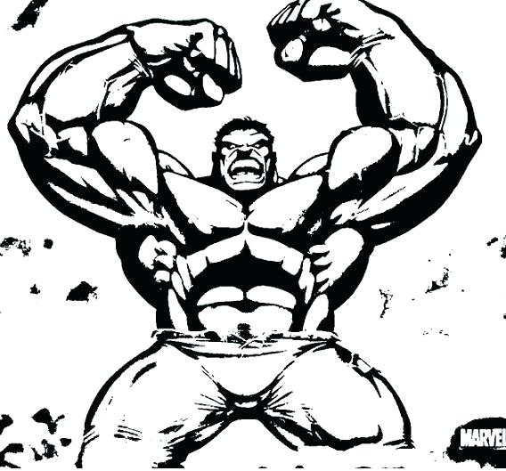 the incredible hulk coloring pages - hulk cartoon drawing at free for