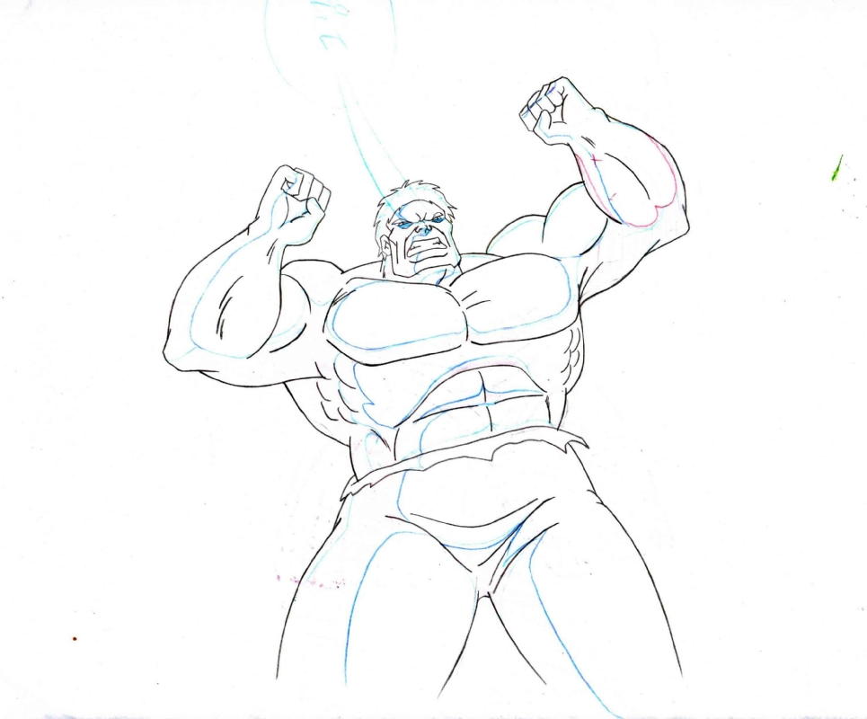 965x800 Incredible Hulk Amp She Hulk Cartoon 1996