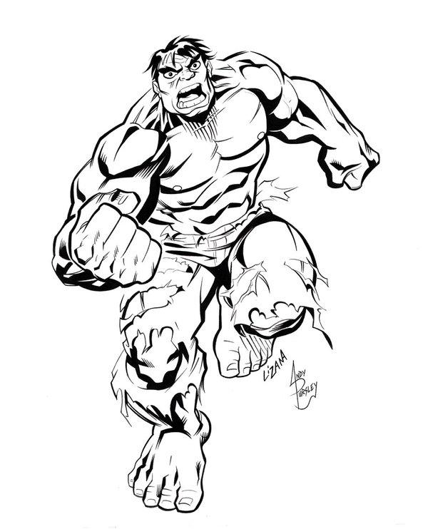 600x742 Incredible Hulk By Scarab109