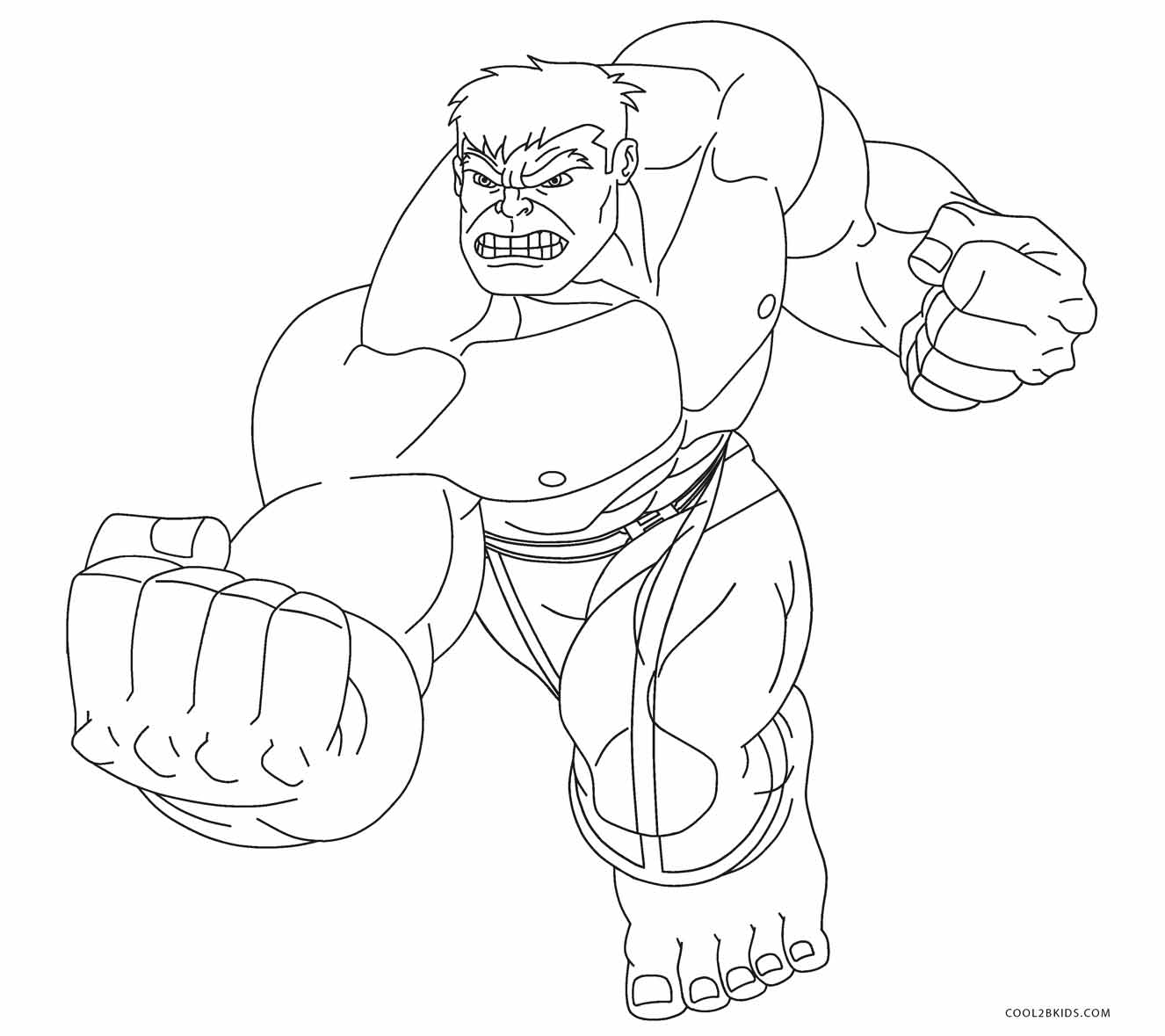 1326x1179 Free Printable Hulk Coloring Pages For Kids Cool2bKids