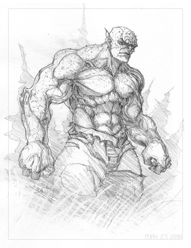 618x800 How To Draw Abomination Hulk Step By Step Easy Video Tutorial