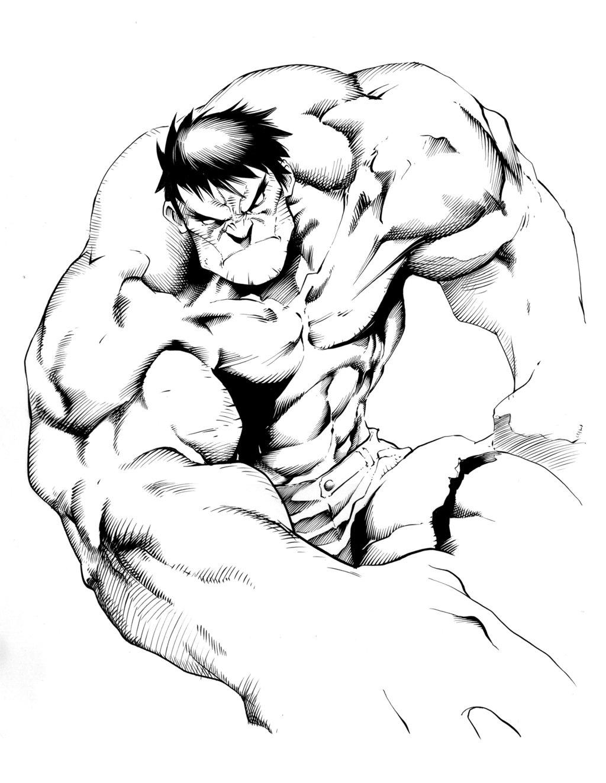 1024x1324 Hulk By Inker Guy