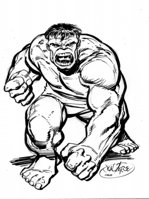 600x800 Hulk Commission By John Byrne Comic Art Everything Nerdy