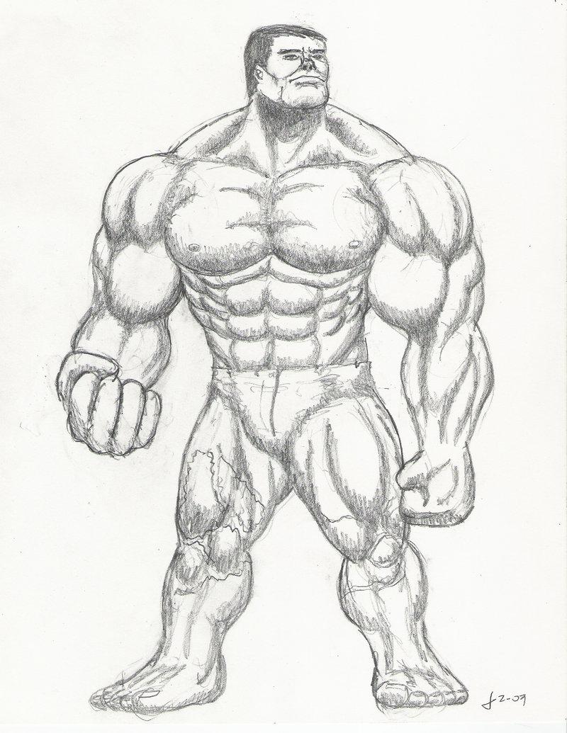 800x1035 The Incredible Hulk Drawing Pencil