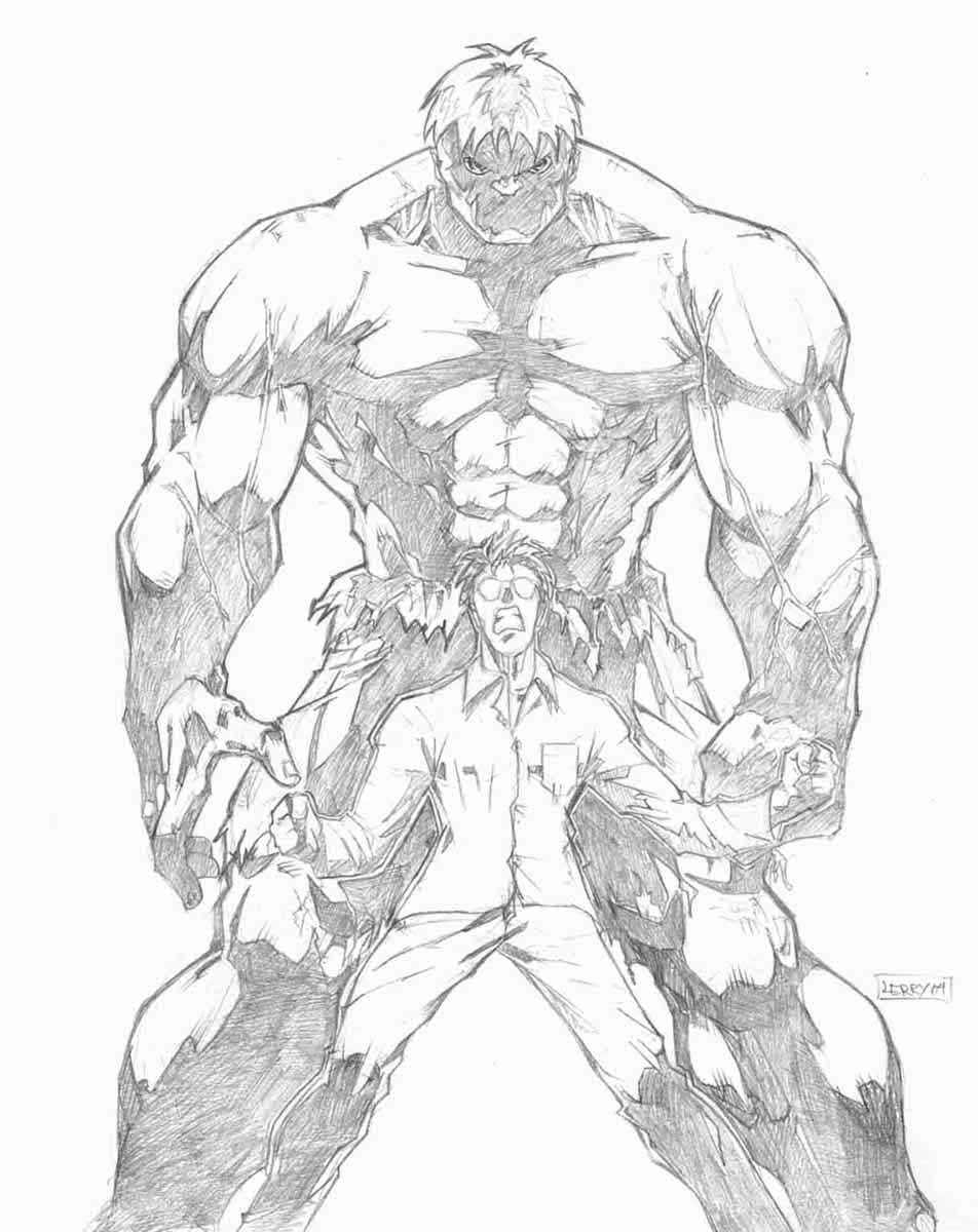 952x1200 The Incredible Hulk Drawing Pencil Drawn Hulk Pencil Drawing