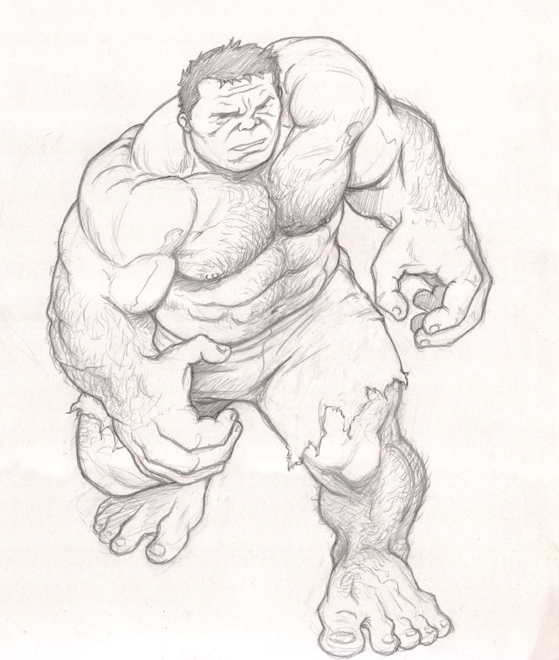 788x930 The Incredible Hulk By Nmrosario