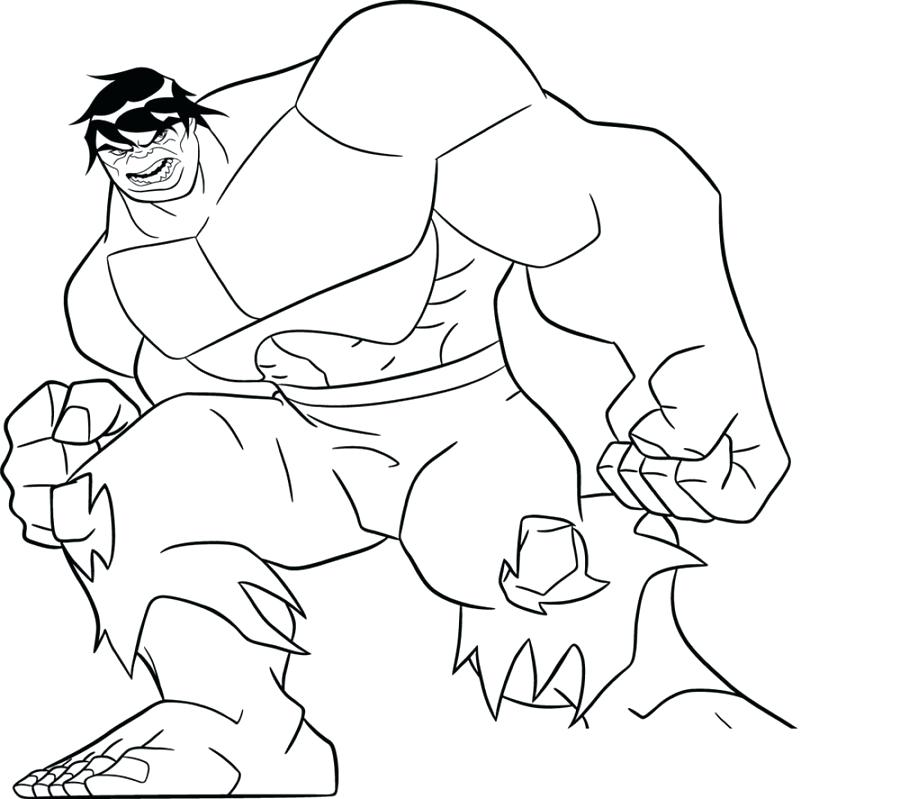 900x799 Hulk Color Pages Hulk Lifts Car Abomination Fighting A Duel